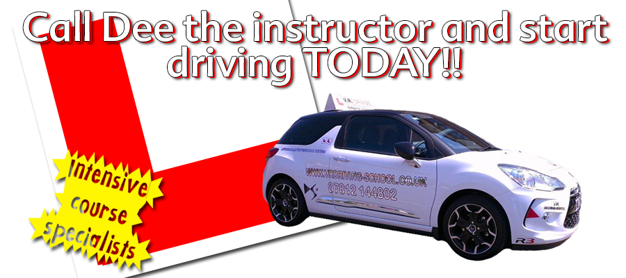 Driving lessons with VR Driving School